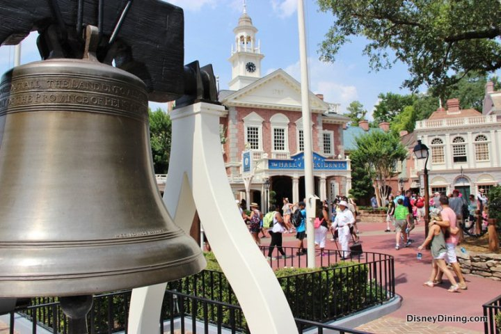 Liberty-Bell-replica-and-Hall-of-Presidents-liberty-square-magic-kingdom-walt-disney-world-2