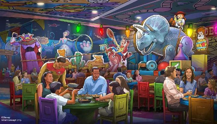 Toy Story Land NEW RESTAURANT!
