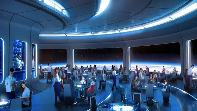 NEW Space Restaurant!
