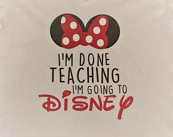 Teachers love Disney