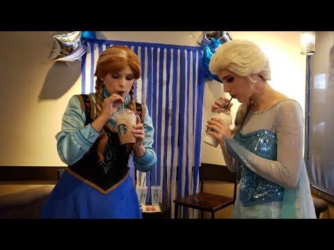 Secret Menu Starbucks for Frozen 2Fans!