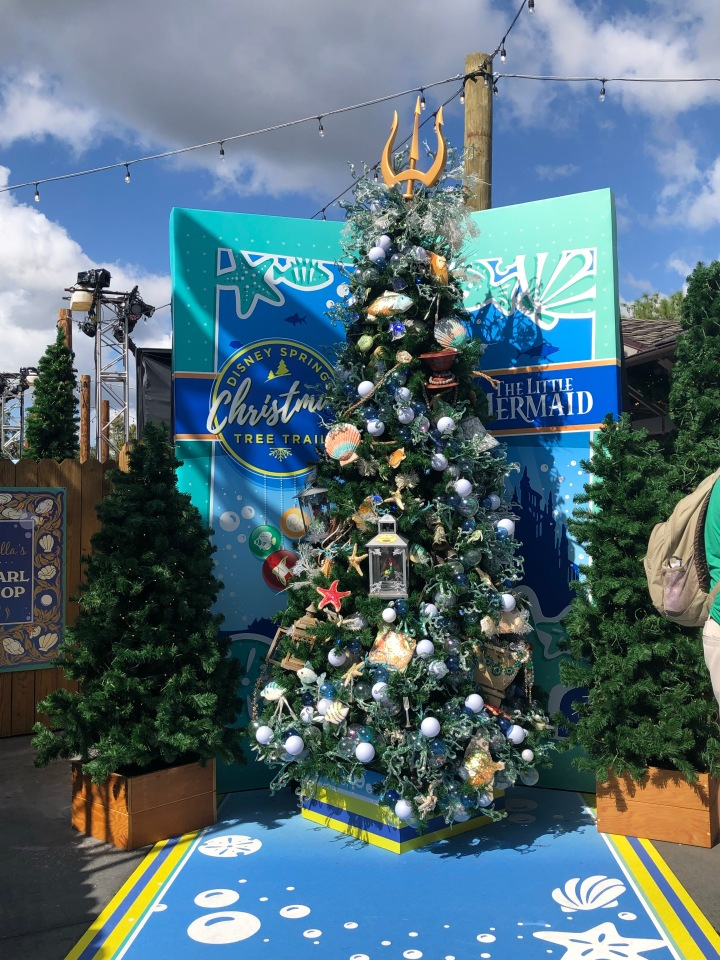 Did you know there's a Christmas Tree Trail In Disney?