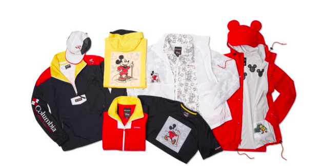 Mickey Mouse heads Outdoors withColumbia!