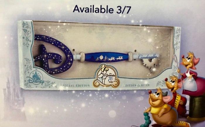 Cinderella Collectible Key Comin'Soon