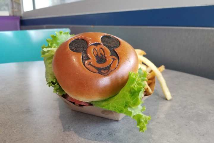 Mickey Monster Mash Burger.. but make it VEGAN!