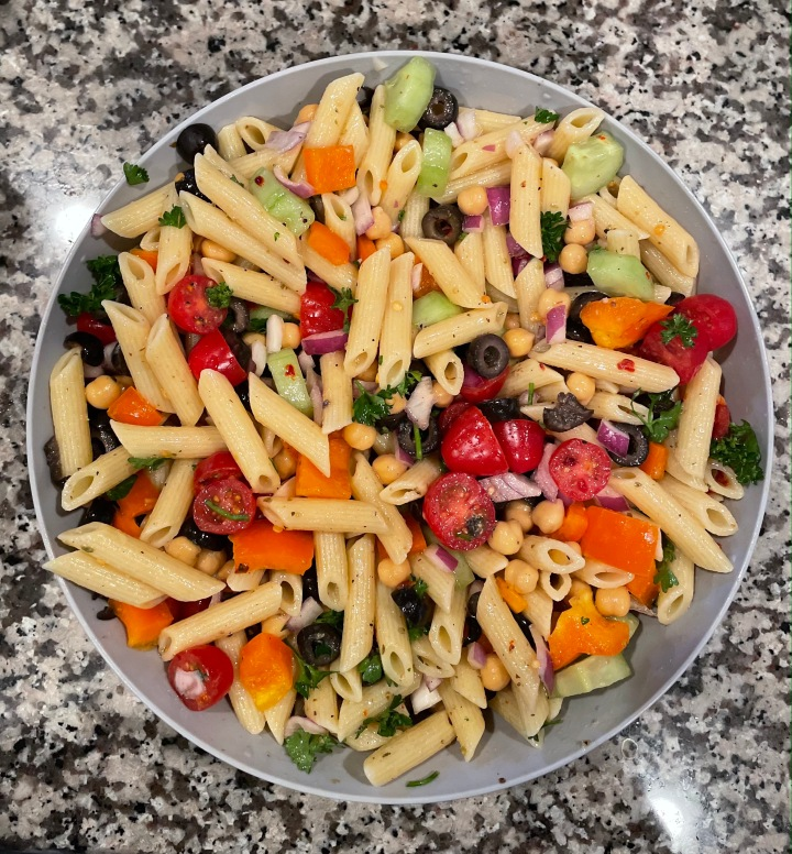 Quick &Easy Vegan PastaSalad